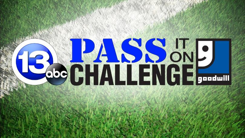 Goodwill Pass It On Challenge Graphic